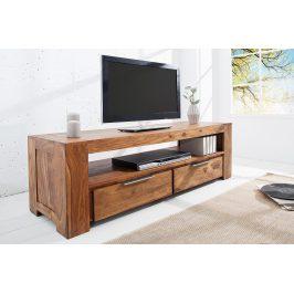 Moebel Living Masivní TV stolek Rubik 135 cm