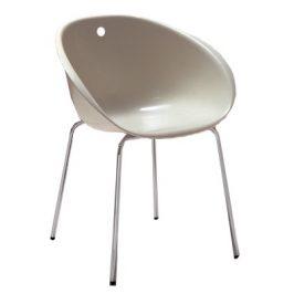 Pedrali Jídelní židle GLISS 900 v barvě slonové kosti