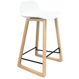 Culty Gold Barová židle Kavala, buk/bílá
