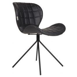 Černá jídelní židle ZUIVER OMG LL