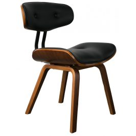 Hnědá jídelní židle DUTCHBONE Blackwood