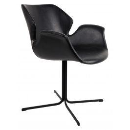 Černá jídelní židle ZUIVER NIKKI