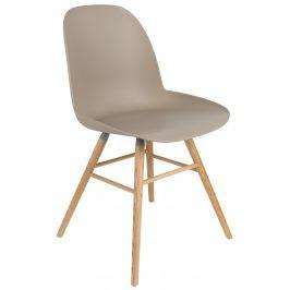 Béžová jídelní židle ZUIVER ALBERT KUIP