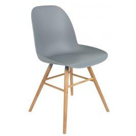Světle šedá jídelní židle ZUIVER ALBERT KUIP