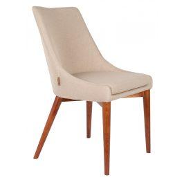 Krémová jídelní židle DUTCHBONE Juju