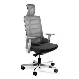 OfficeLab Černá látková kancelářská židle Spin