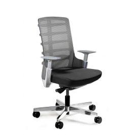 OfficeLab Černá látková kancelářská židle Spin S