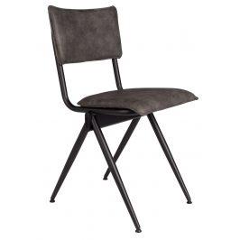 Tmavě šedá jídelní židle DUTCHBONE Willow