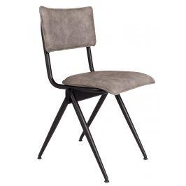 Šedá jídelní židle DUTCHBONE Willow