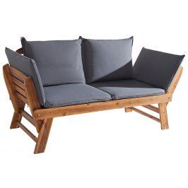 Moebel Living Zahradní masivní akátová lavice Ebigon 152cm