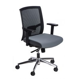 Culty Šedá kancelářská židle Darton