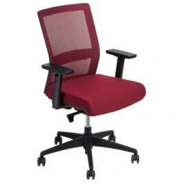 Culty Kancelářská židle Milneo, látka, červená/červená