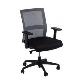 Culty Kancelářská židle Milneo, látka, šedá/černá