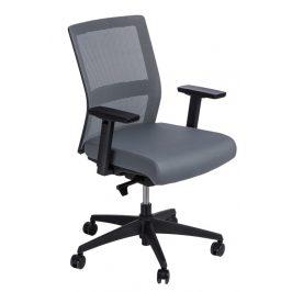 Culty Kancelářská židle Milneo, látka, šedá
