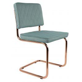 Mátově zelená jídelní židle ZUIVER DIAMOND