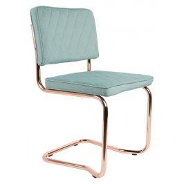 Mátově zelená jídelní židle ZUIVER DIAMOND KINK