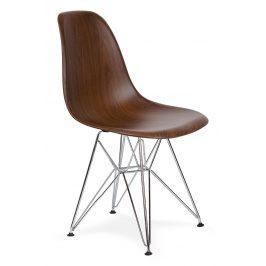 Culty Gold Plastová židle DSR v provedení imitace dřeva