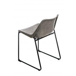 Culty Jídelní židle Heda, ekokůže, šedá