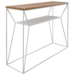 take me HOME Toaletní stolek Maximo 100 cm, dub/bílá