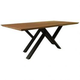 take me HOME Jídelní stůl MR. W 240 cm, dub/černá
