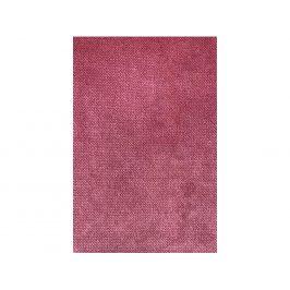 Hoorns Růžový sametový taburet Raden