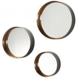 Set závěsných kulatých zrcadel LaForma Wilson