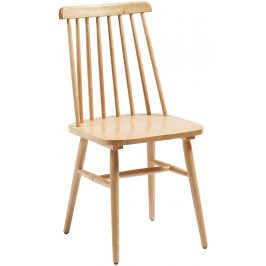 Přírodní dřevěná jídelní židle LaForma Kristie