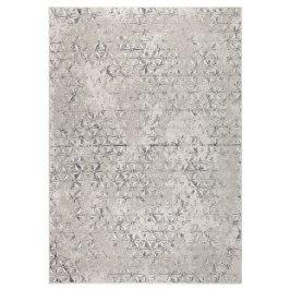 Šedý koberec ZUIVER MILLER 170x240 cm s geometrickými vzory