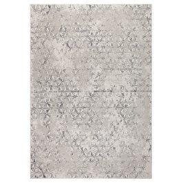Šedý koberec ZUIVER MILLER 200x300 cm s geometrickými vzory