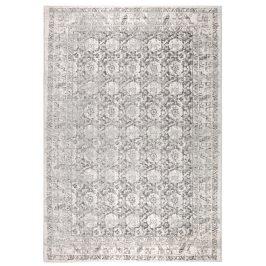 Světle šedý koberec ZUIVER MALVA 170x240 cm s orientálními vzory