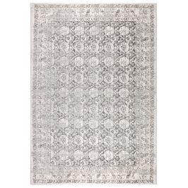 Světle šedý koberec ZUIVER MALVA 200x300 cm s orientálními vzory