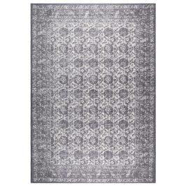 Tmavě šedý koberec ZUIVER MALVA 170x240 cm s orientálními vzory