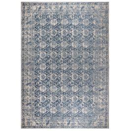 Denim modrý koberec ZUIVER MALVA 170x240 cm s orientálními vzory
