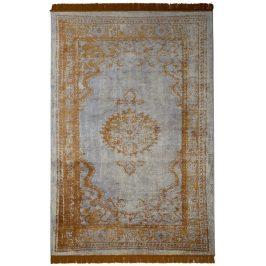 Oranžový koberec ZUIVER MARVEL 200x300 cm ve vintage stylu
