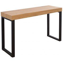 Moebel Living Přírodní pracovní stůl Dirk 120x40 cm