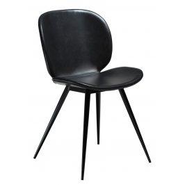 DAN-FORM Černá vintage židle DanForm Cloud