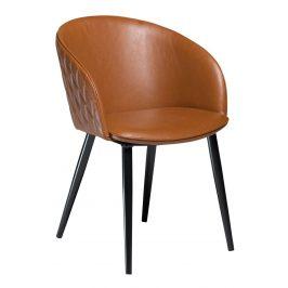 DAN-FORM Světle hnědá čalouněná vintage židle DanForm Dual