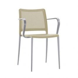 Pedrali Béžová kovová židle Mya 706