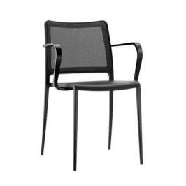 Pedrali Černá kovová židle Mya 706