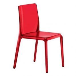 Pedrali Červená plastová židle Blitz 640