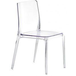 Pedrali Transparentní plastová židle Blitz 640