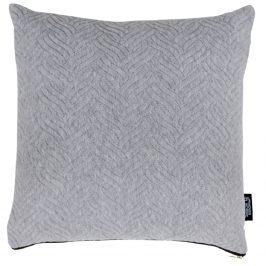 Světle šedý polštář Nordic Living Boras 45x45 cm