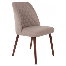 White Label Living Béžová čalouněná židle WLL CONWAY