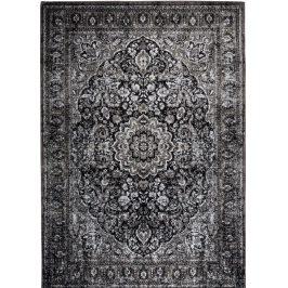White Label Living Černý koberec WLL Chi 160x230 cm s orientálními vzory