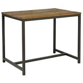 SCANDI Dřevěný masivní barový stůl Kalma 130x70 cm
