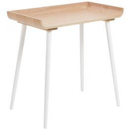 Dubový pracovní stůl LaForma Alexis 90x48 cm