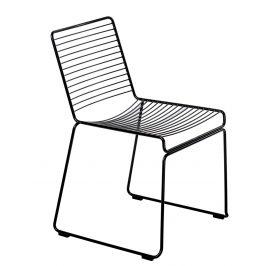 Culty Černá kovová židle Zolla