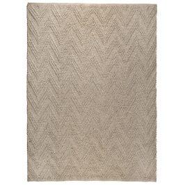 Béžový koberec ZUIVER PUNJA 170x240 cm s geometrickým vzorem
