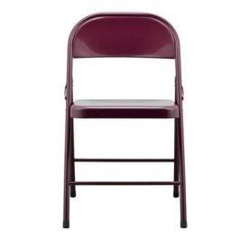 House Doctor Vínová kovová židle Fold it