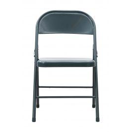House Doctor Šedá kovová židle Fold it